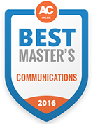 Affordable Colleges Best Master's Communications 2016