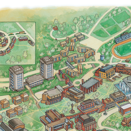 Campus Map Ithaca College.Pictures Of Ithaca College Campus Map Kidskunst Info