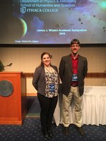 2016 Keynote speakers Madison Mangano and Dr. Luke Keller