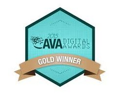 AVA Digital Awards Gold