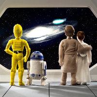 A scene from Stars Wars Epic Yarns