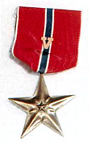 Bronze Star Medal with Valor