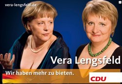 CDU Poster for Vera Lengsfeld, Germany (2009) (http://conservativehome.blogs.com/international)