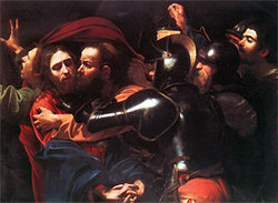 "Carravaggio's ""The Taking of Christ"""
