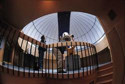 Chris & Dan at the Observatory