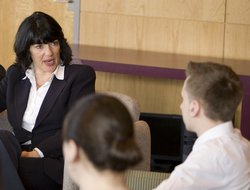Christiane Amanpour meets with Park Scholars