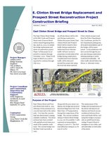 Clinton Prospect Bridge Project newsletter