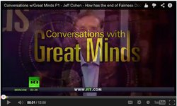 Conversations with Great Minds Screen