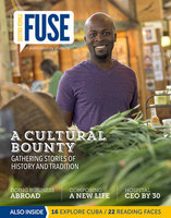 Cover of Fuse Magazine for Spring 2015