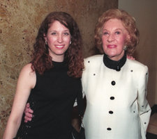 Cynthia Sayer with Marian McPartland