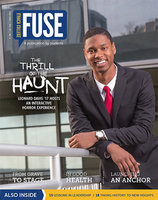 Fall 2016 cover of Fuse Magazine