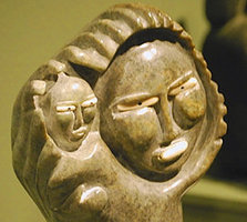 "From ""Of the People: Inuit Sculpture from the Collection of Mary and Fred Widding"""