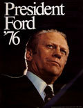 Gerald Ford Poster, Democratic Party, 1976