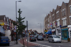 Heading to the main part of Tooting Broadway.