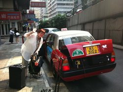 Hong Kong taxis are so cool!