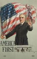 "Howard Chandler Christy, ""America First!"" 1920 (Ohio Historical Society)"