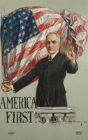 "Howard Chandler Christy, ""America First!"" (1920) (Ohio Historical Society)"