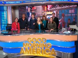 ICNYC students at GMA set