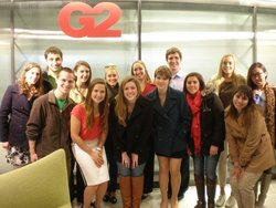 IC Students Visit Leading Ad Agencies in NYC