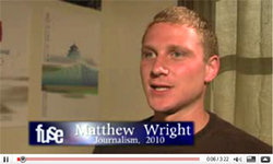 IC journalism major Matthew Wright '10