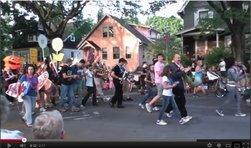 Ithaca Festival Parade video