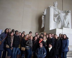 Ithaca Students In Washington, D.C.