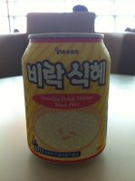 "Korean ""nostalgia"" sweet rice drink"