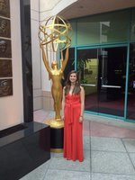 Kristin-Leffler-at-the-College-TV-Awards