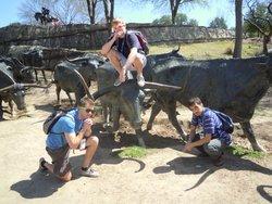 Kyle, Zack & Brendan at Dalles, TX