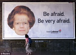 Labour Party Billboard (Reuters, 2001)