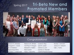 New and Promoted Members