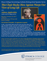 PDF of the Fall Distinguished Speaker Flyer-Ashton Applewhite