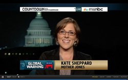 Park scholar alumna and reporter for Huffington Post, Kate Sheppard