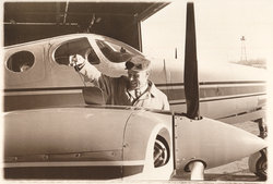 President Phillips and his plane