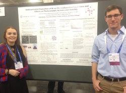Samantha Hilston (Biochem '18) and Noah Budin (Chemistry '18) at ACS National Meeting at San Francisco, CA in April 2017.