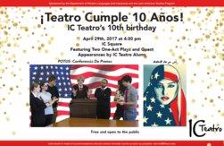 Teatro 10th birthday