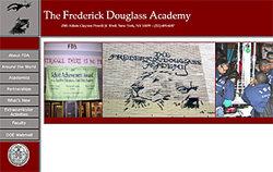 The Frederick Douglass Academy website