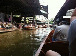 The floating market