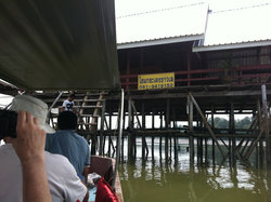 The floating restaurant