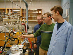 Tour the chemistry department!