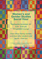 WGST Social Hour Fall 2015