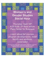 WGST Spring 2015 Social Hour