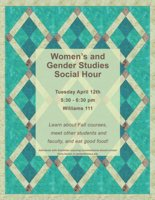 Women's and Gender Studies Social Hour