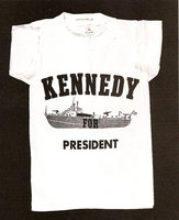 kennedy t-shirt, 1960 (Smithsonian Institution)