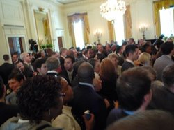 white house pride month reception