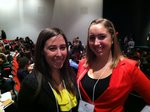 2012 AWNY Scholarship Winners: IMC Majors Rachel Heiss and Marissa Osowsky