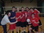6v6 Volleyball Men's Champion - Bob Saget and The Olsen Twins