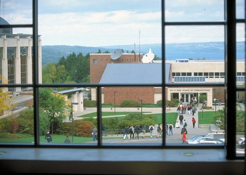 Ithaca College, IC, Roy H. Park School of Communications, Cayuga Lake, South Hill