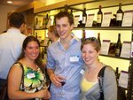 Alumni at A Taste of New York event