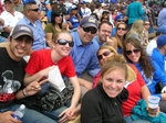 Alumni at Dodgers game